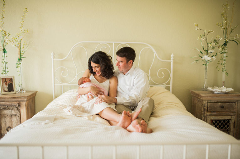 parents with baby | Linsey Middleton Photography